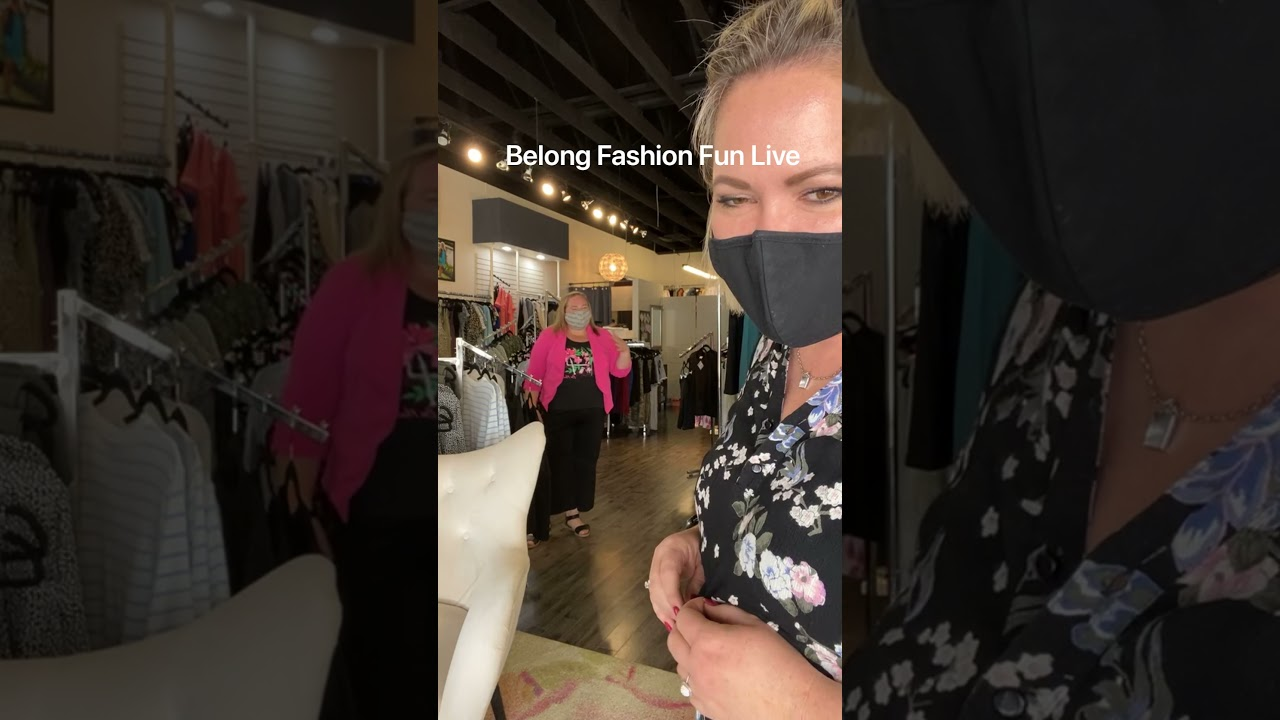 Belong Fashion Fun Live: The one with the apple
