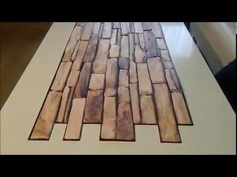 Panel Pcv Naturalstone Slate Youtube