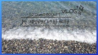 오즈모 포켓으로 찍은 첫번째 브이로그 ❤️ 울산 대왕암…