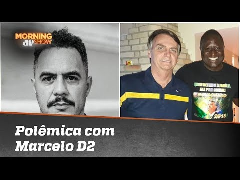 Marcelo D2 se envolve em polêmica