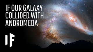 What If the Milky Way and Andromeda Galaxies Collided?