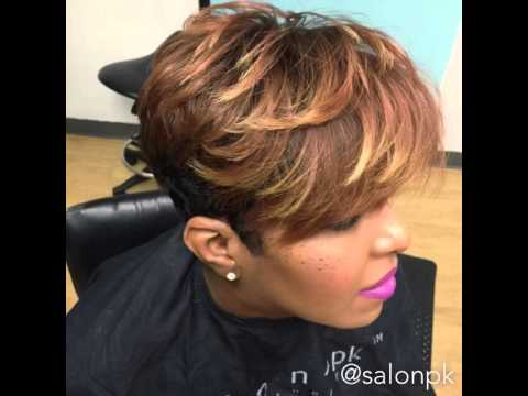 Short Haircuts for Black Women  YouTube - 27 Piece Quick Weave Hairstyles