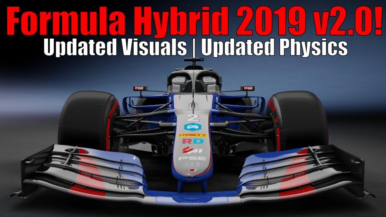 Formula Hybrid 2019 v2 0 Update - Assetto Corsa Gameplay