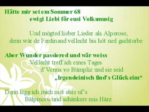 Bligg Musigg i dä Schwiiz Lyrics