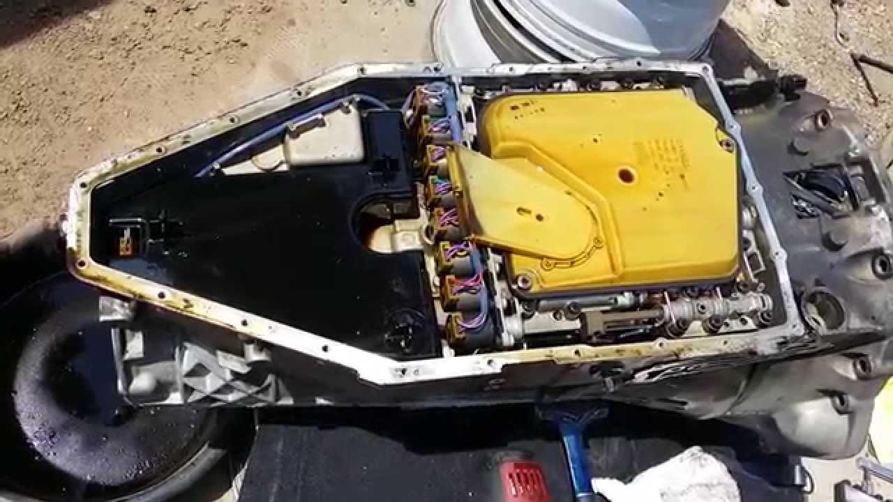BMW 740 Automatic Transmission 5hp-30 Oil Change Part 1