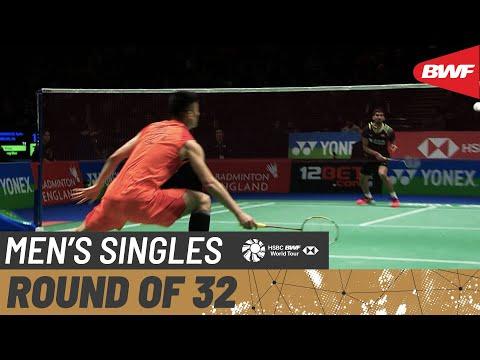 R32 | MS | KIDAMBI Srikanth (IND) vs. CHEN Long (CHN) [3] | BWF 2020