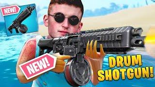 *NEW* DRUM SHOTGUN In Fortnite Battle Royale SOON! (LIVE)