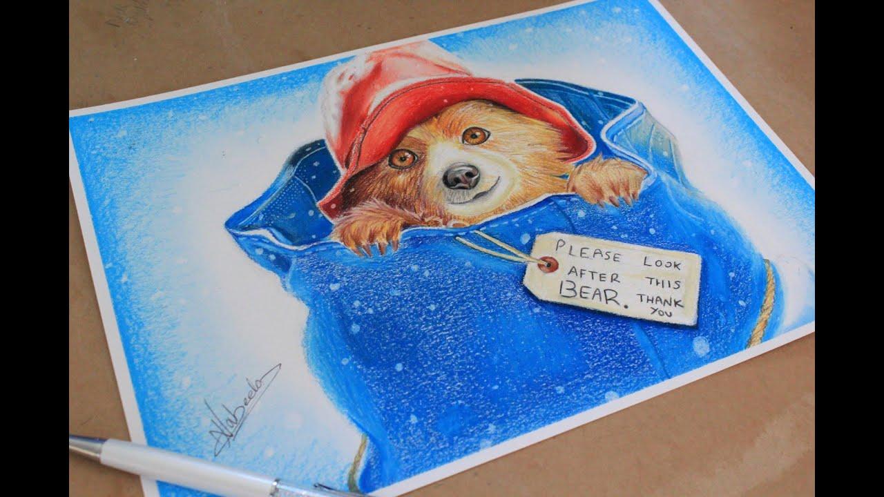 Cake Art Paddington : Drawing Paddington Bear - YouTube