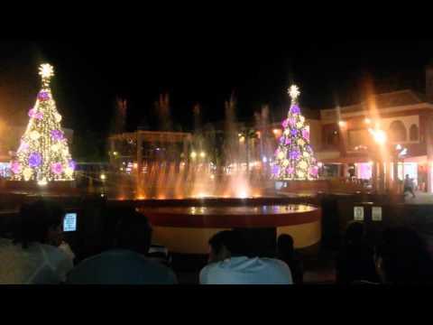 Aruba city espectáculo de luces