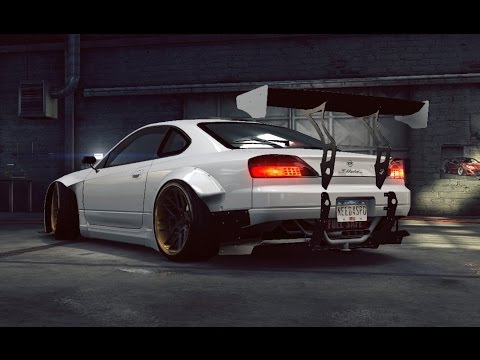 Need for Speed No Limits Nissan Silvia Spec R Rocket Bunny | first look