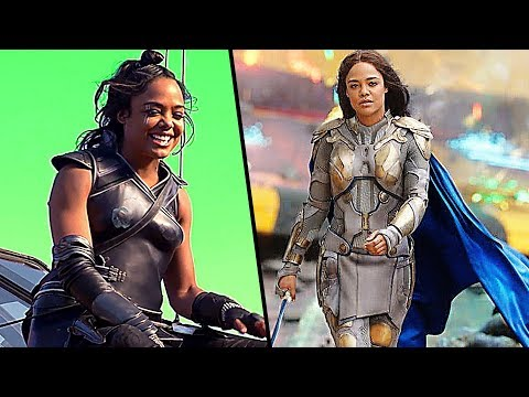 "THOR RAGNAROK ""Valkyrie"" (Tessa Thompson) Behind The Scenes"