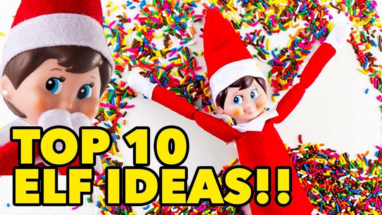 7ec928b973c Top 10 Best Elf on the Shelf Ideas 2018 - YouTube