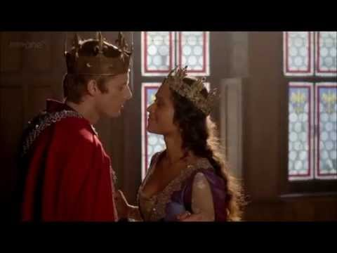 Merlin 4x13-Arthur's Proposal And Gwen's Coronation