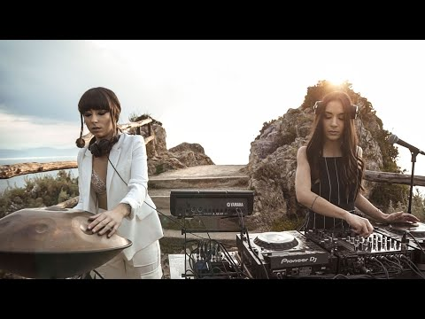 Giolì & Assia - #DiesisLive @Milazzo, Sicily [Handpan Set]