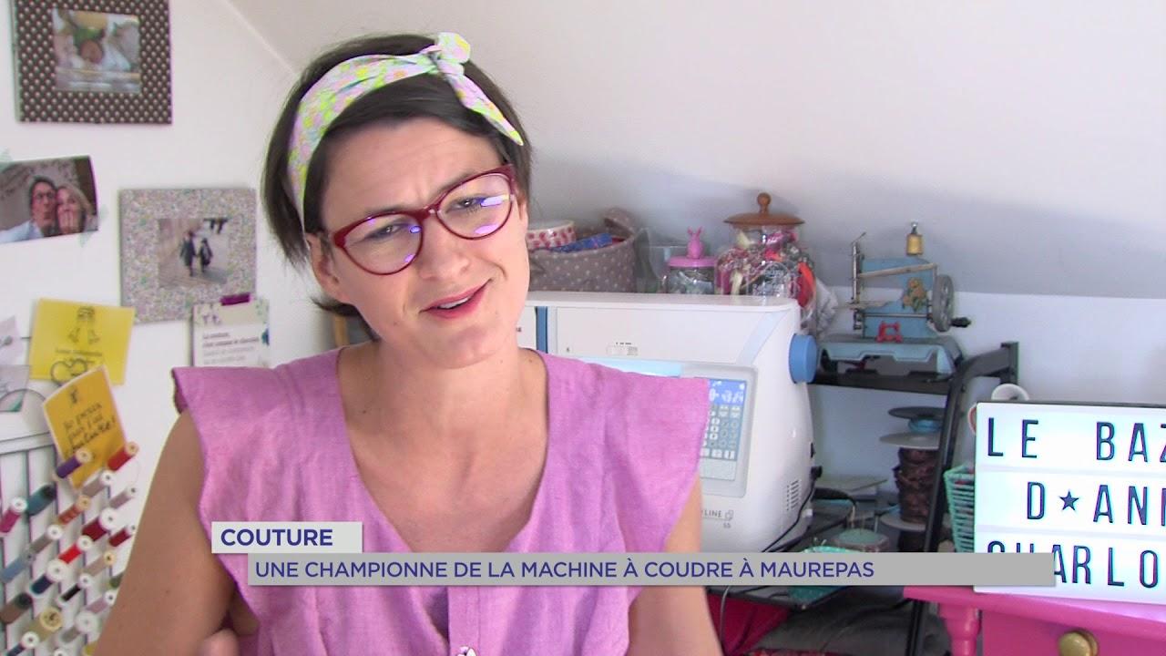 Couture : Une championne de la machine à coudre à Maurepas