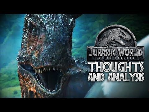 TRAILER BREAKDOWN | Jurassic World: Fallen Kingdom