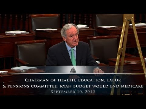Chairman of Health, Education, Labor & Pensions Committee: Ryan Budget Would End Medicare