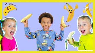 Bananas Song - Kids Songs From Gaby and Alex | REACTION Jason