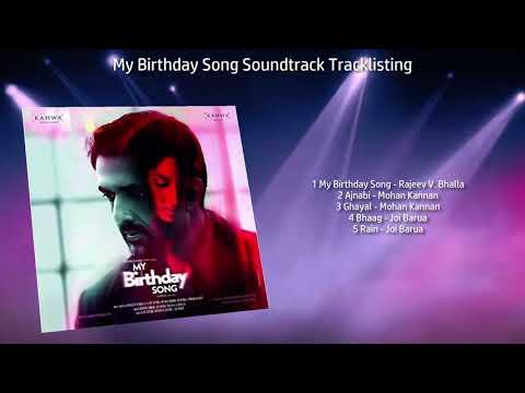 My Birthday Song Soundtrack Tracklisting