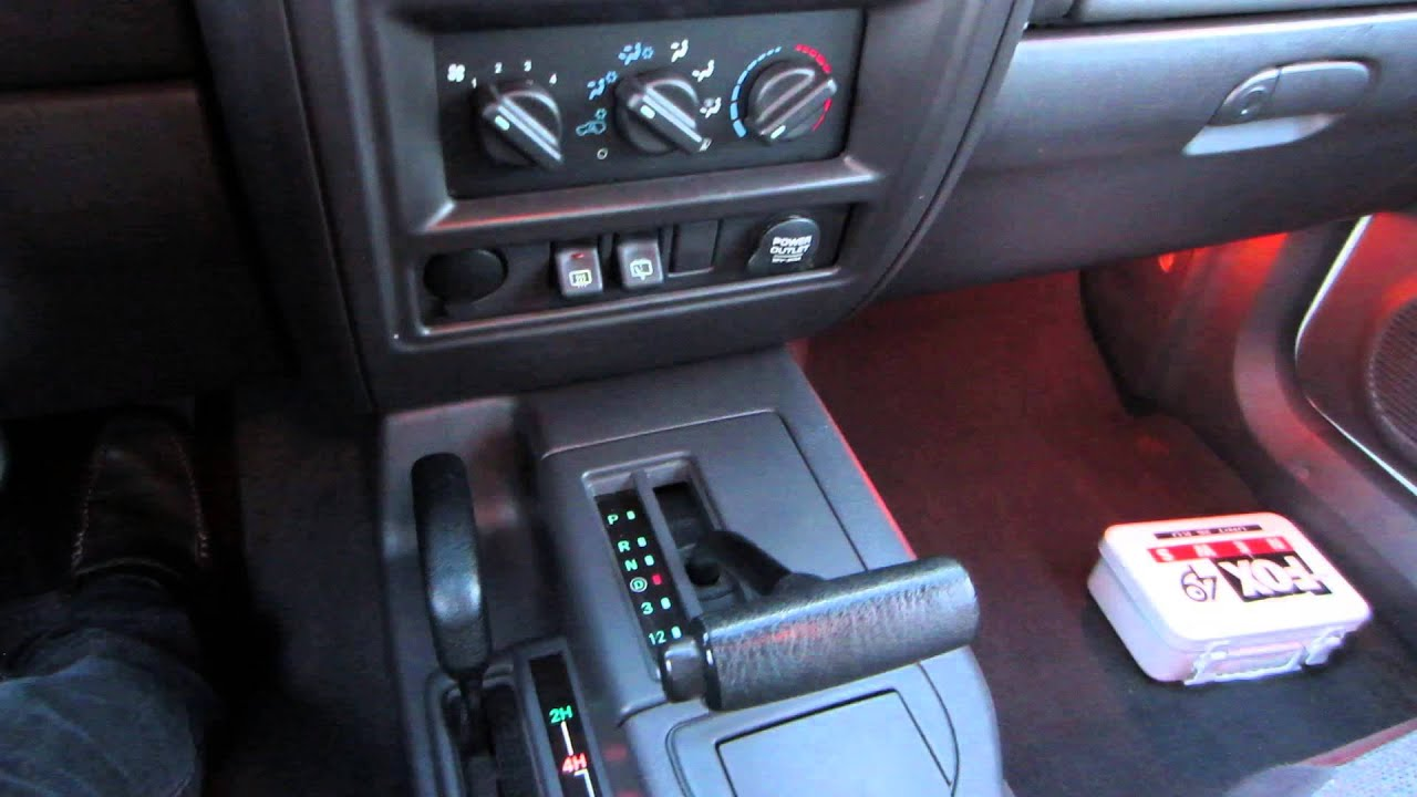 Superior 2000 Jeep Cherokee 118k Interior   YouTube Nice Look