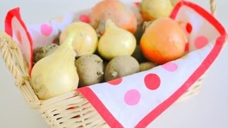 【DIY】野菜の保存&簡単な収納方法アイデア♡~Save & simple storage method idea of vegetables. thumbnail