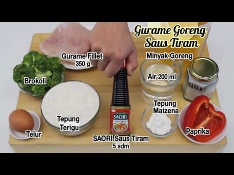 Dapur Umami Gurame Goreng Saus Tiram Youtube