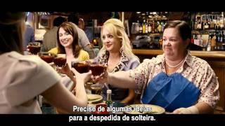 MISSÃO MADRINHA DE CASAMENTO (Bridesmaids) - Trailer HD Legendado