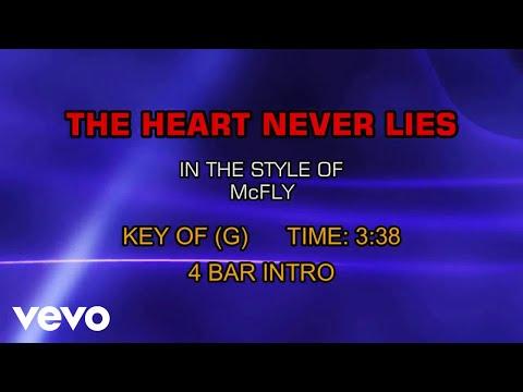 McFly - The Heart Never Lies (Karaoke)