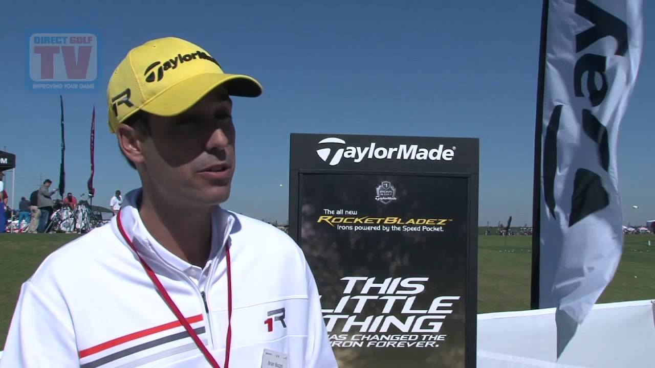 TaylorMade RocketBladez Irons - DGTV at PGA Trade Show - YouTube 25c018dc192