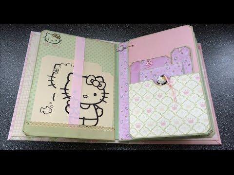 Girly Girl's Precious - an XL mini album (incl. Hello Kitty!)