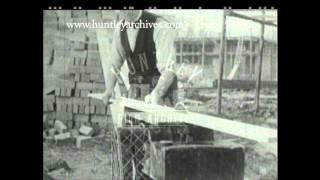 Carpenter At Work, 1930's - Film 91638