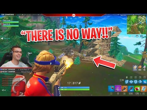 Ramp-rushing the enemy team in STYLE! (Nick Eh 30's Best Fortnite Moments #42)
