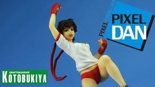 Street Fighter Sakura PE Uniform Bishoujo Kotobukiya NYCC Exclusive Statue Video Review