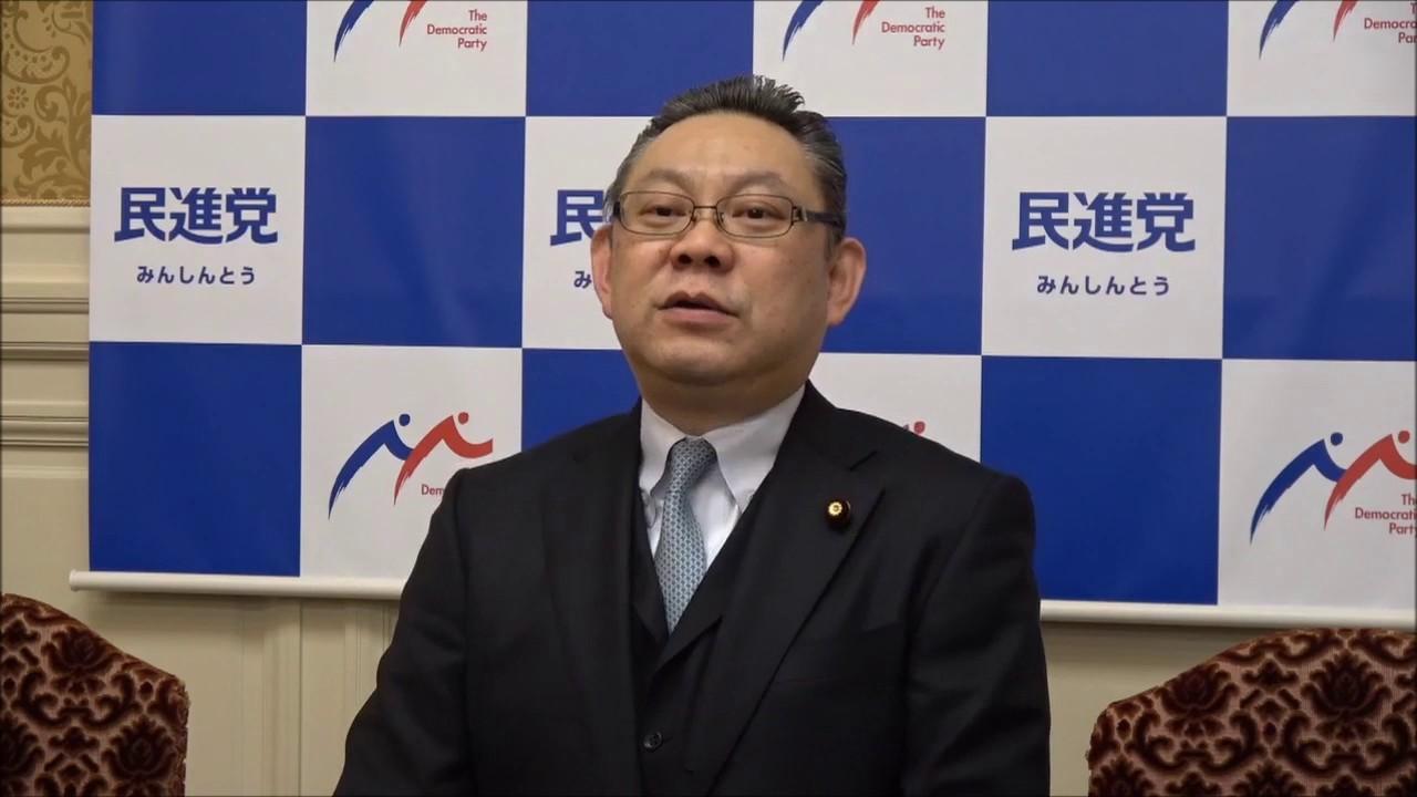 小川勝也 民進党・小川勝也参院幹事長記者会見 2017年3月7日