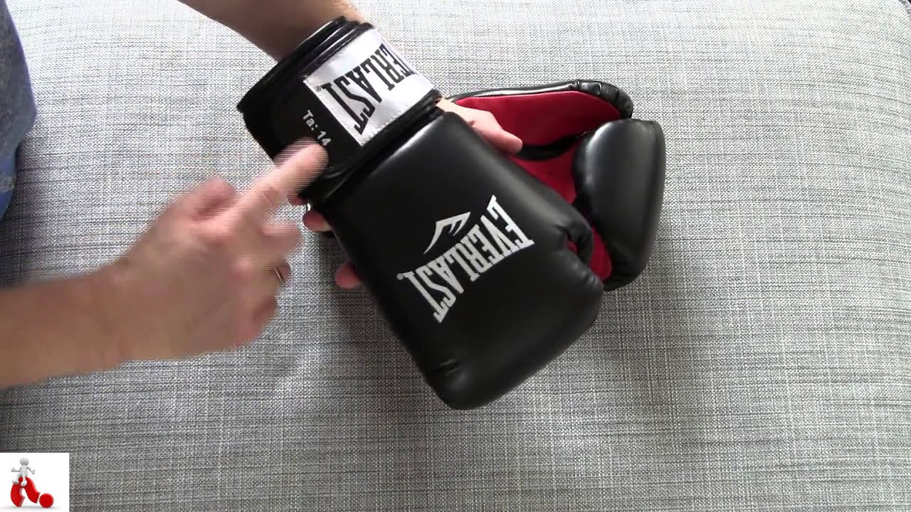 7606d0a55 Everlast level 1 Boxing Gloves review - YouTube