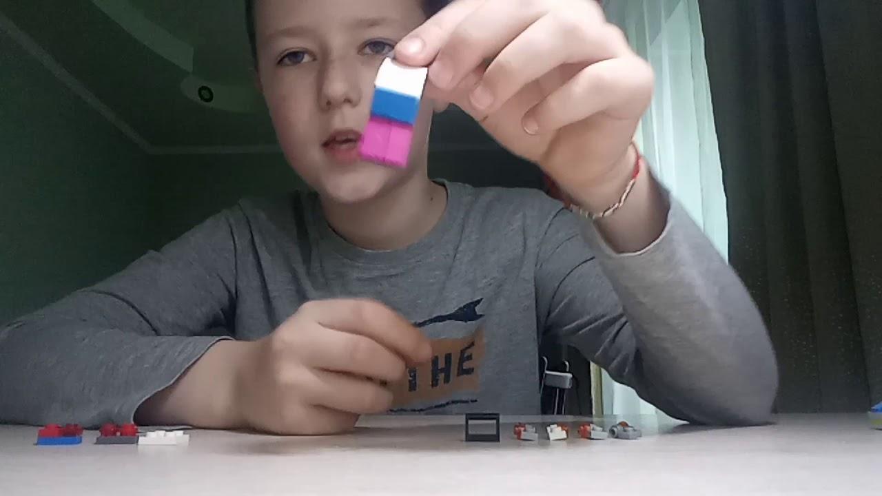 Делаю мини машинку из Лего