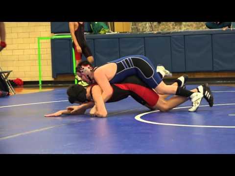 Nippersink Middle School Wrestling Highlights 2-23-16