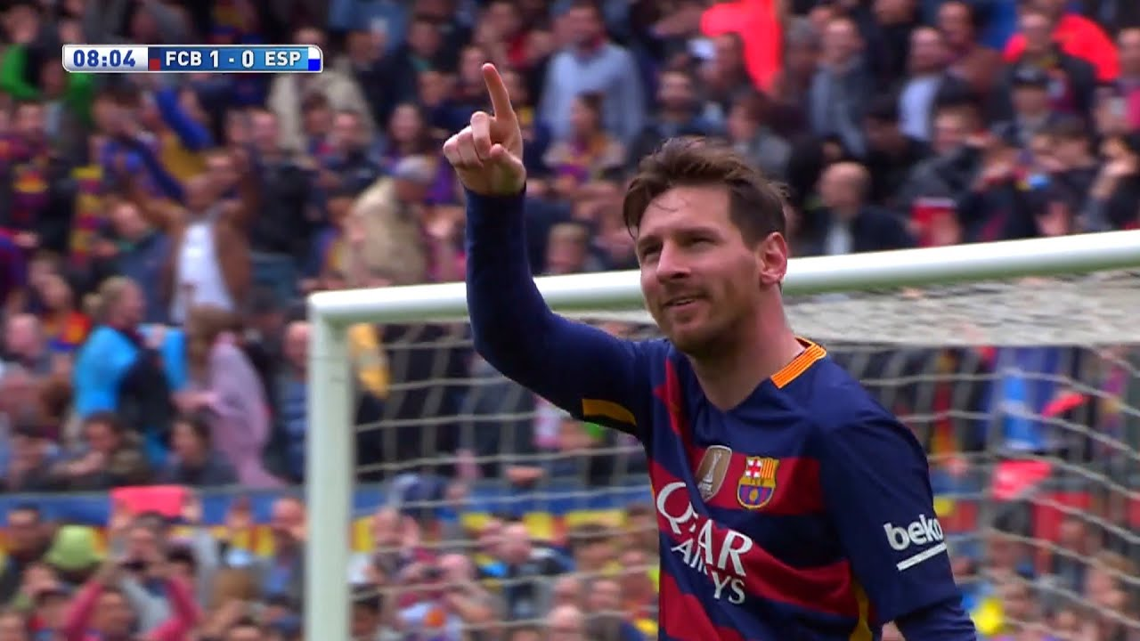 Download Lionel Messi vs Espanyol (Home) 15-16 HD 1080i - English Commentary