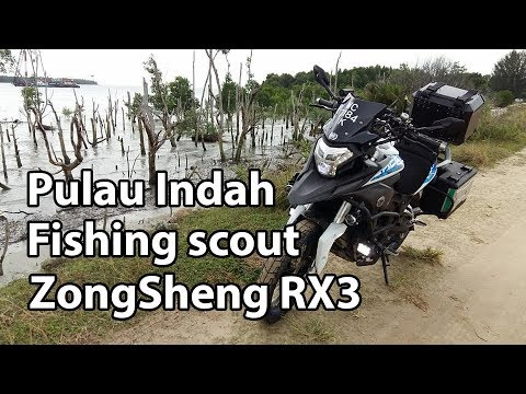 Pulau indah fishing scout with RX3