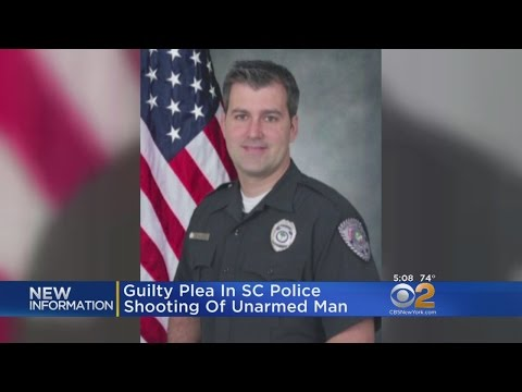 Guilty Plea In SC Police Shooting Of Unarmed Man
