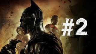 Injustice Gods Among Us Gameplay Walkthrough Part 2 - Aquaman - Chapter 2