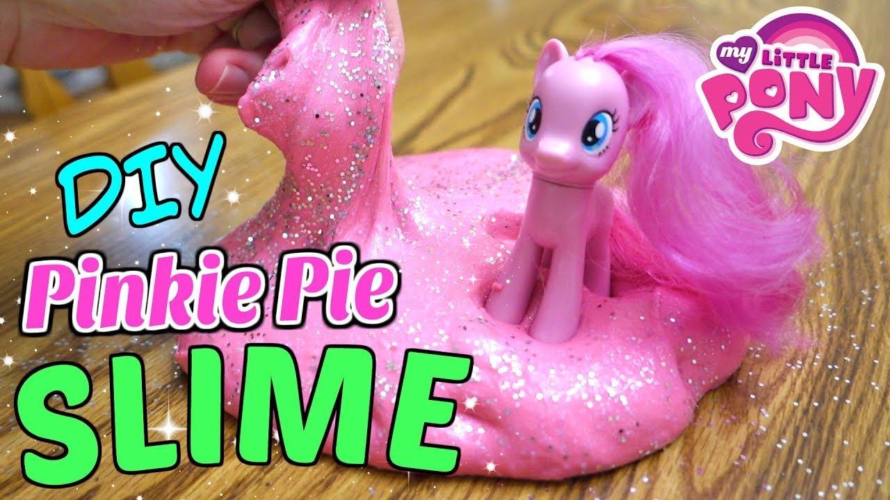 My Little Pony Pinkie Pie Slime Diy Mommy Etc