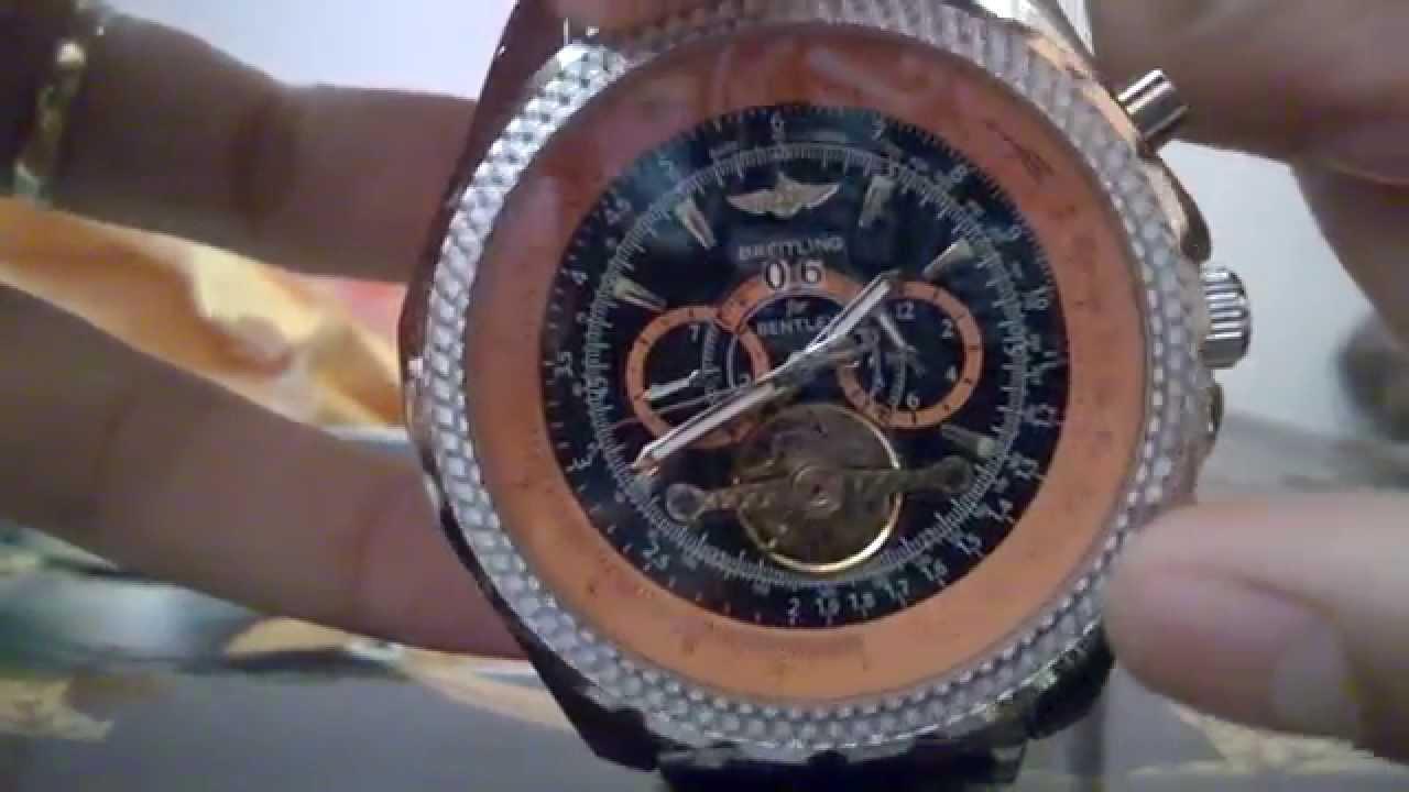 Breitling Bentley Watches >> Unboxing Réplica Breitling For Bentley Motors Aliexpress ...