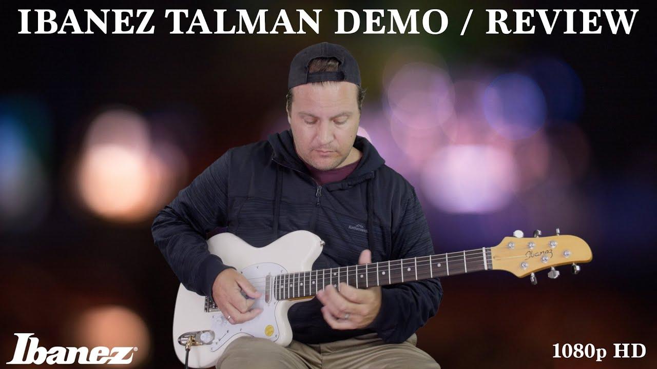 ibanez talman demo review tm302m youtube