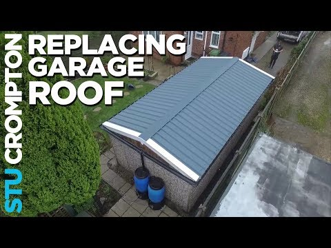 How To Replace Garage Roof In The Rain