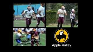 VICTOR VALLEY COLLEGE FOOTBALL HIGHLIGHTS VS SBVC