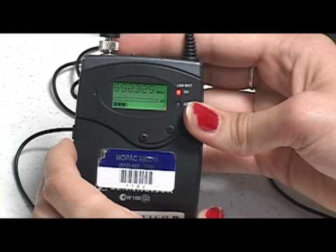 how to set up a sennheiser ew100 and ew100 g2 youtube rh youtube com sennheiser ew100 g2 manual download sennheiser ew 100 g2 manual español