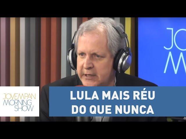 """Augusto Nunes: """"Lula saiu do depoimento a Moro mais réu do que nunca"""""""