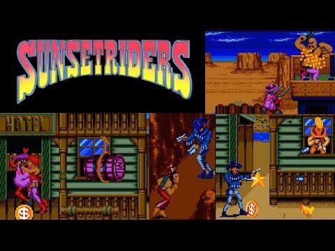 Sunset Riders (Sega Genesis) Billy + Cormano