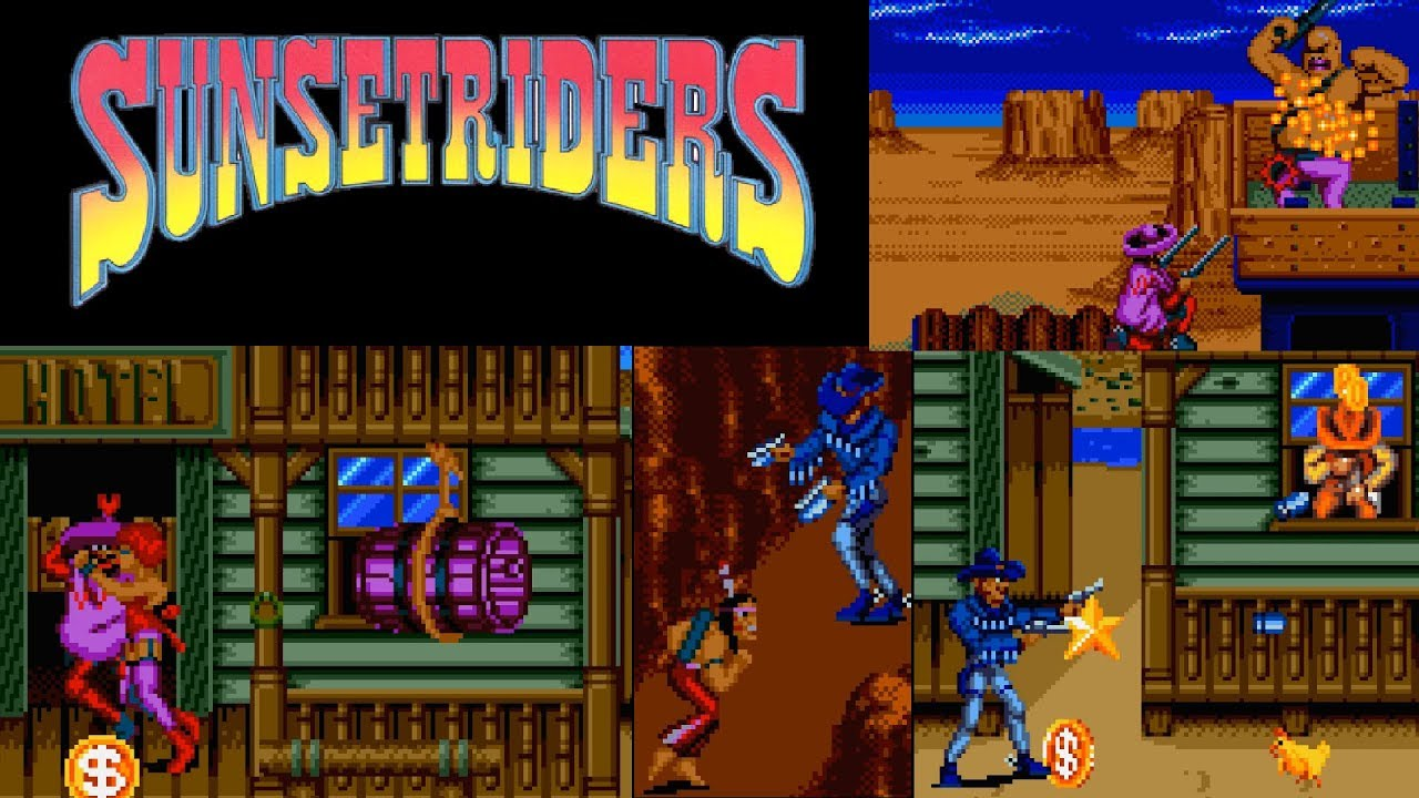 Sunset Riders (Sega Genesis) Billy + Cormano - YouTube